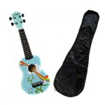 Morgan UK S 100 Sopranukulele m/bag