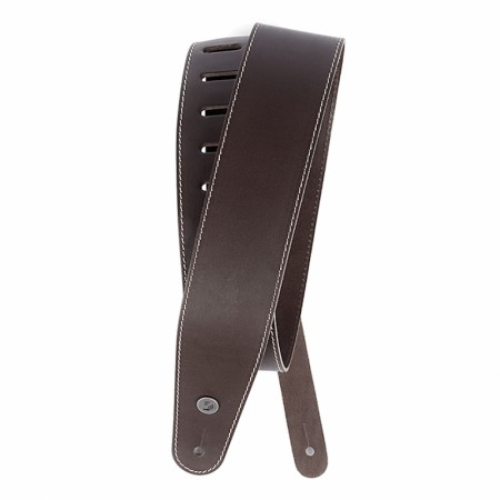 Planet Waves 25LS01-DX Deluxe Leather Brown Stitch